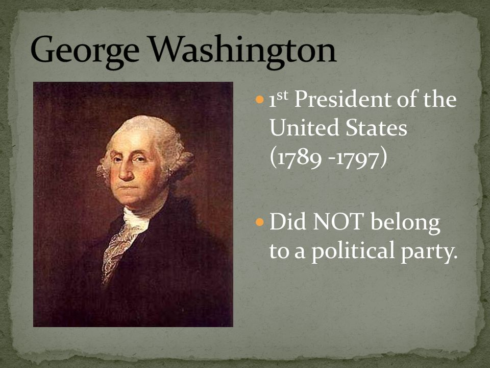 an overview of the presidency of george washington in the united states A summary of the presidency or section of george washington and washington took the oath of office and began his new job as president of the united states.