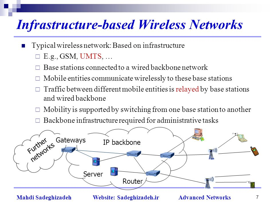 what is network infrastructure pdf