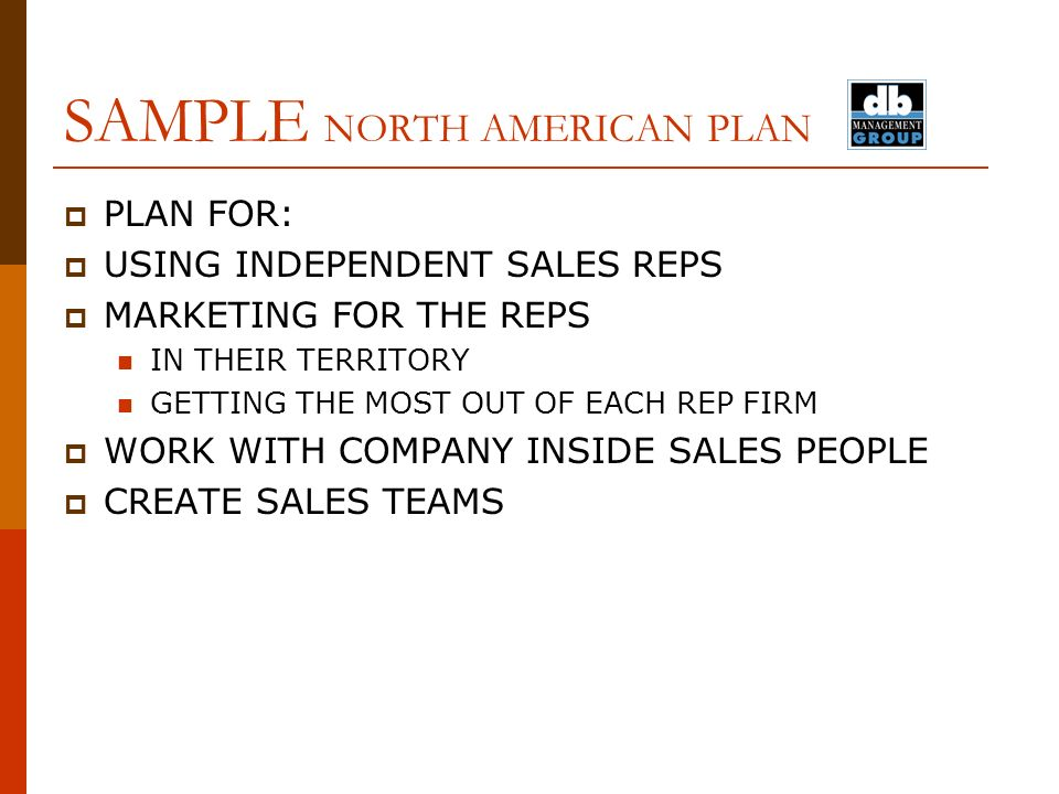 TEL FAX CELL SAMPLE PLAN STRATEGIC SALES AND MARKETING PLAN – Sample Territory Sales Plan