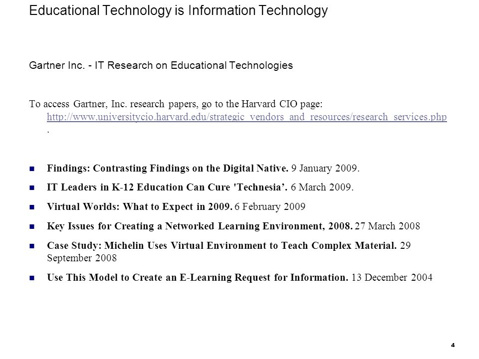 research papers on educational technology Educational technology research and development is the only scholarly journal  in the field focusing entirely on research and development in educational.