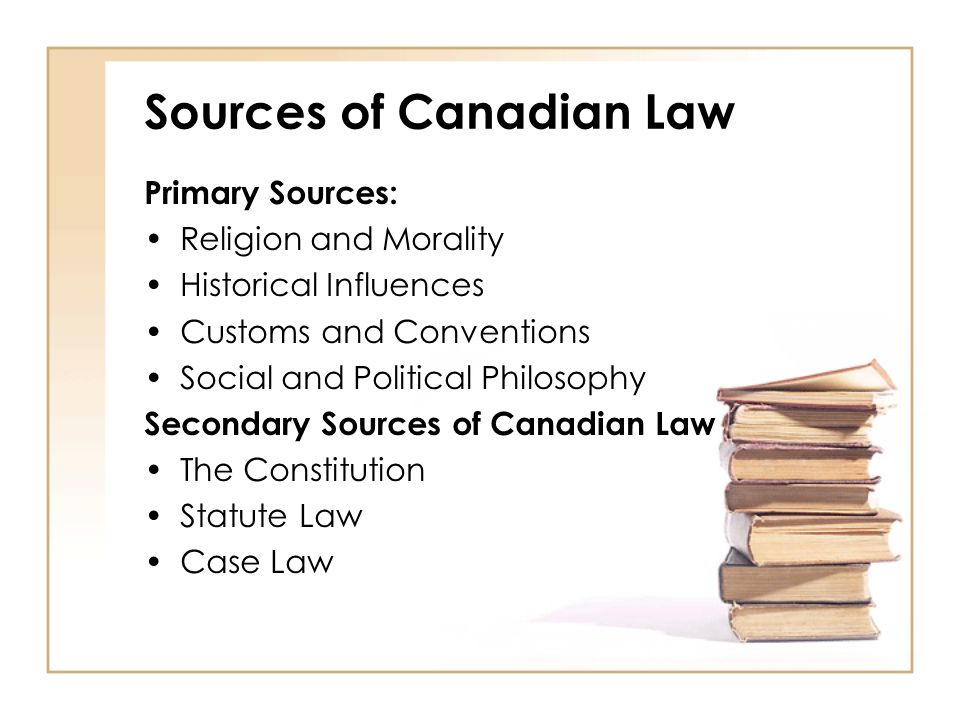 cases in canadian law Introduction - what is case law the law in canada is made of two parts: case law and legislation both are primary sources for canadian law case law is made up of the written decisions of judges in court cases and tribunals case law comes from all levels of courts in canada in the common law in canada, judges.
