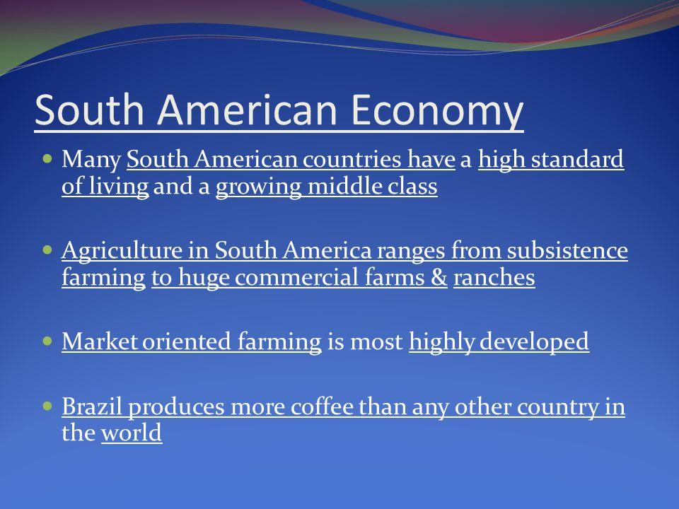 south america economy