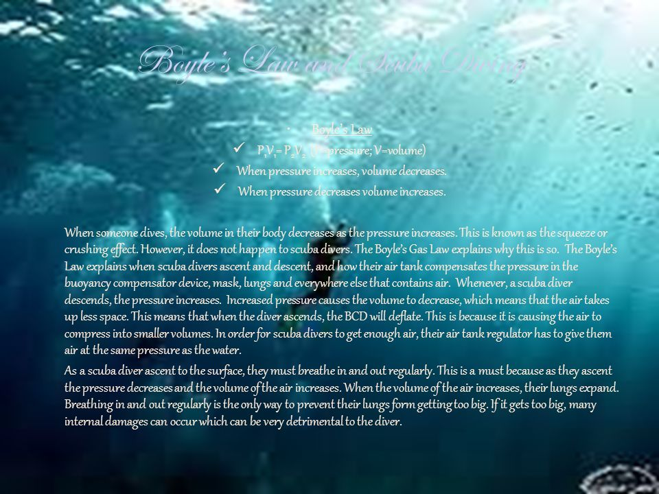gas laws and scuba diving Document read online gas laws and scuba diving answers gas laws and scuba diving answers - in this site is not the similar as a answer manual you purchase in a lp.