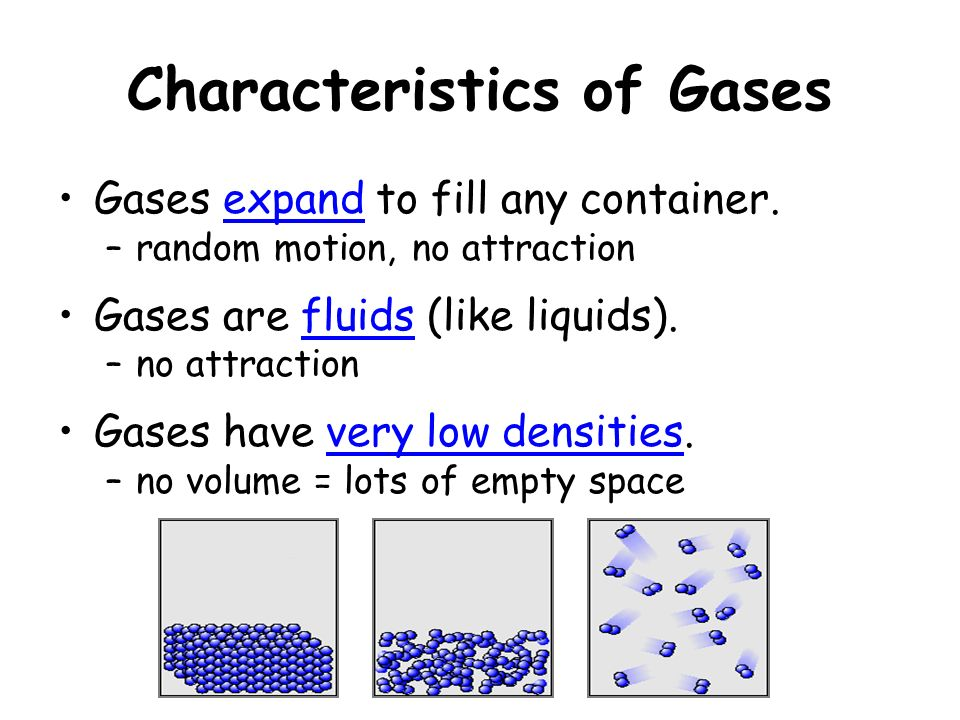 the characteristics of an ideal gas Deviations from ideal behavior all real gasses fail to obey the ideal gas law to varying degrees two of the characteristics of ideal gases included.