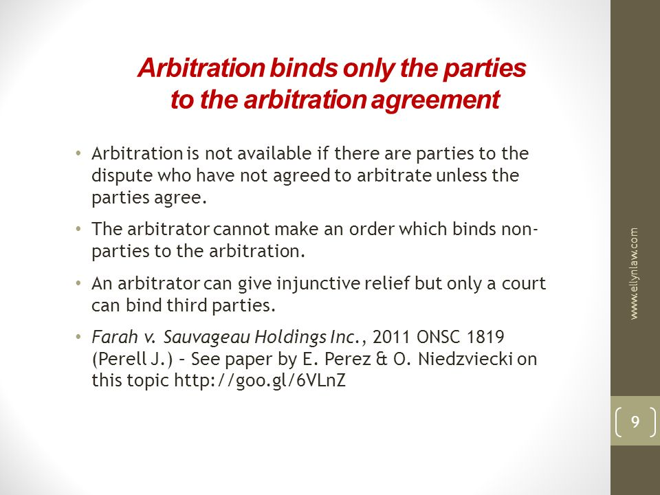 Effective Advocacy In Commercial Arbitration  Ppt Download