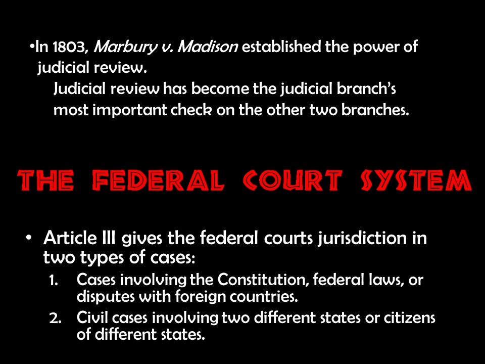 the power of the judiciary essay Judicial review is a process under which executive and (in some countries) legislative actions are subject to review by the judiciary the power of courts to assess whether a law is in compliance with the constitution.