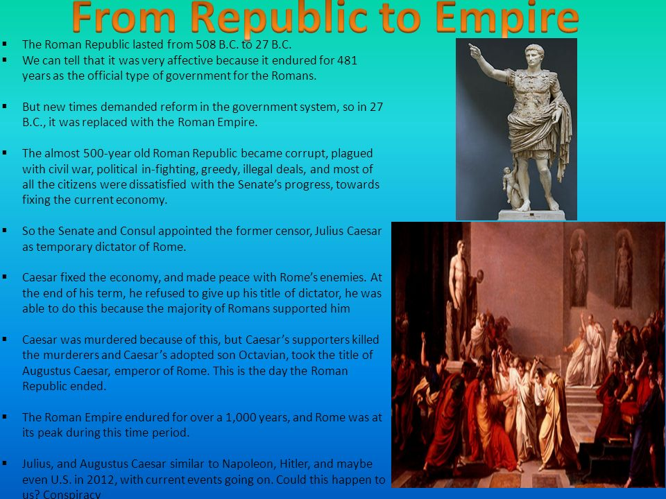 roman empire and change over time Below is a free excerpt of rome continuity & change over time essay from anti  the western roman empire prospered when they had a centralized government in the.