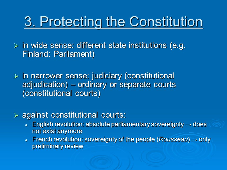 what are the relationship between constitution and constitutionalism