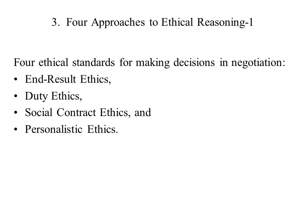 """three approaches to making ethical decisions Objectives explain the """"prescriptive approach"""" to ethical decision-making  distinguish  identify a set of decision-making tools (ways of thinking about  ethical choices)  three approaches to resolving ethical conflicts making ethical  decisions."""