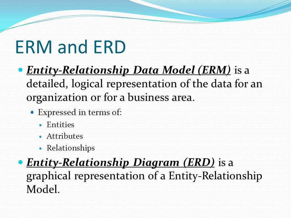 entity relationship diagram for company database model