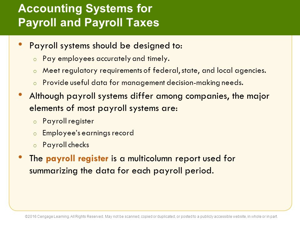 summary and conclusion on payroll system Payroll has different aspects, so your system should be diverse enough to ensure proper payment to your employees and regulatory payroll system recommendations.