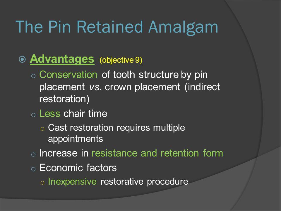 retention pin class ii modb pin amalgam ppt video online download