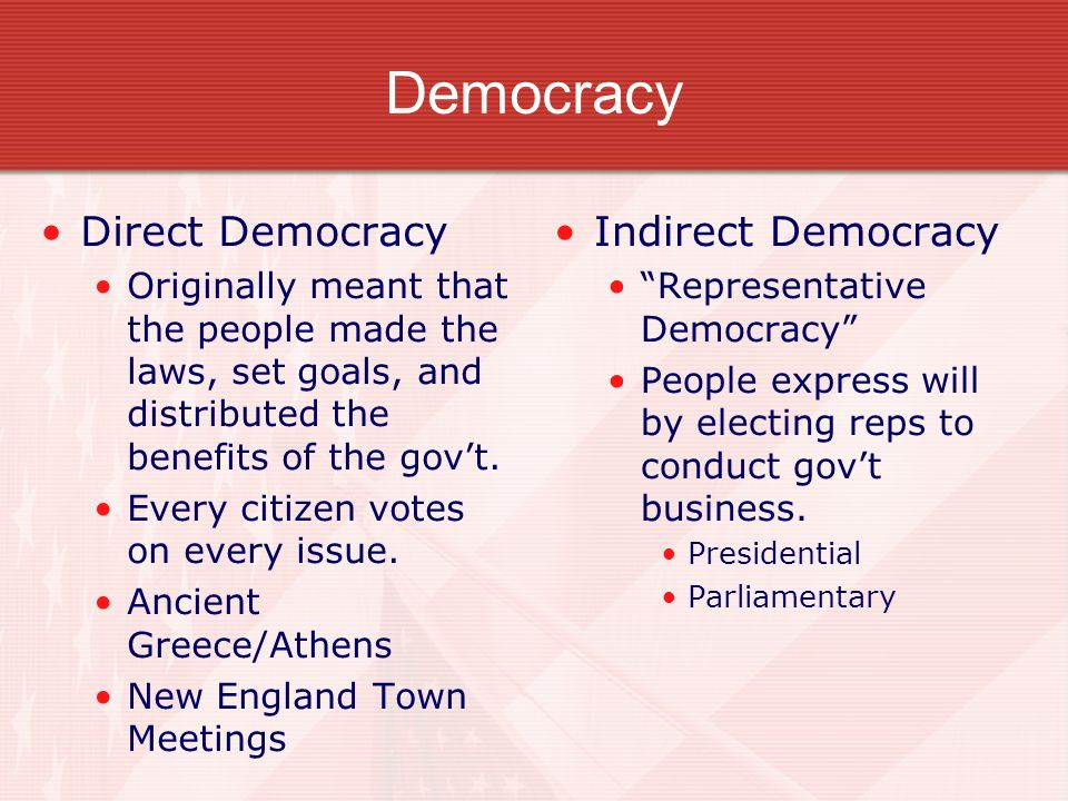 comparing democracy Herodotus, politics and athenian democracy brad martin, xavier university as is widely accepted by scholars comparing and contrasting democracy and.