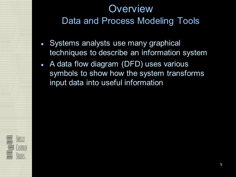 overview data and process modeling tools - Dfd Tools