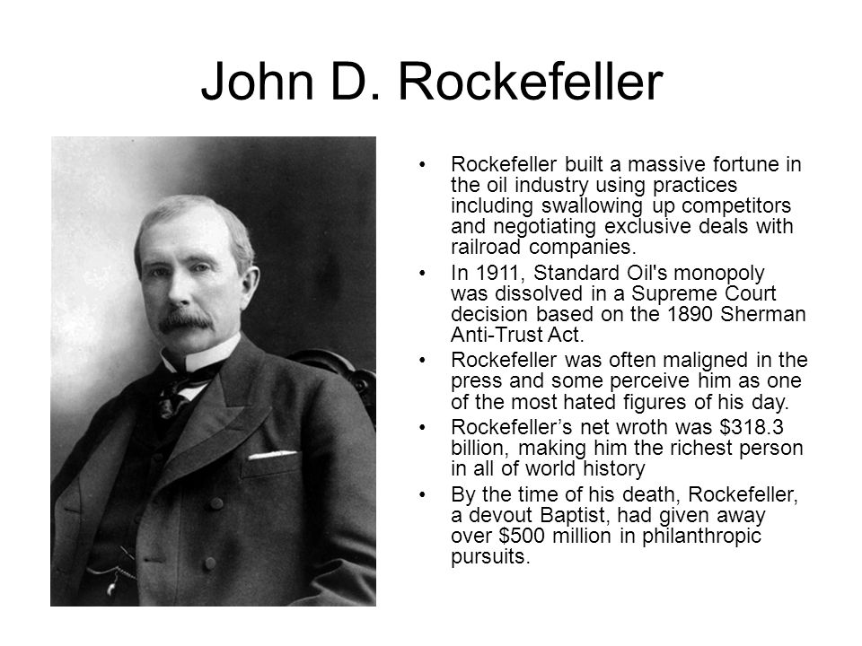 john d rockefeller and andrew carnegie essay Andrew carnegie's essay, gospel of wealth (1889) struck a chord in john d rockefeller and strengthened his resolve to support worthy causes several major philanthropic institutions resulted in 1913, the last, the rockefeller foundation, which has given away over $2 billion in grants, was chartered.
