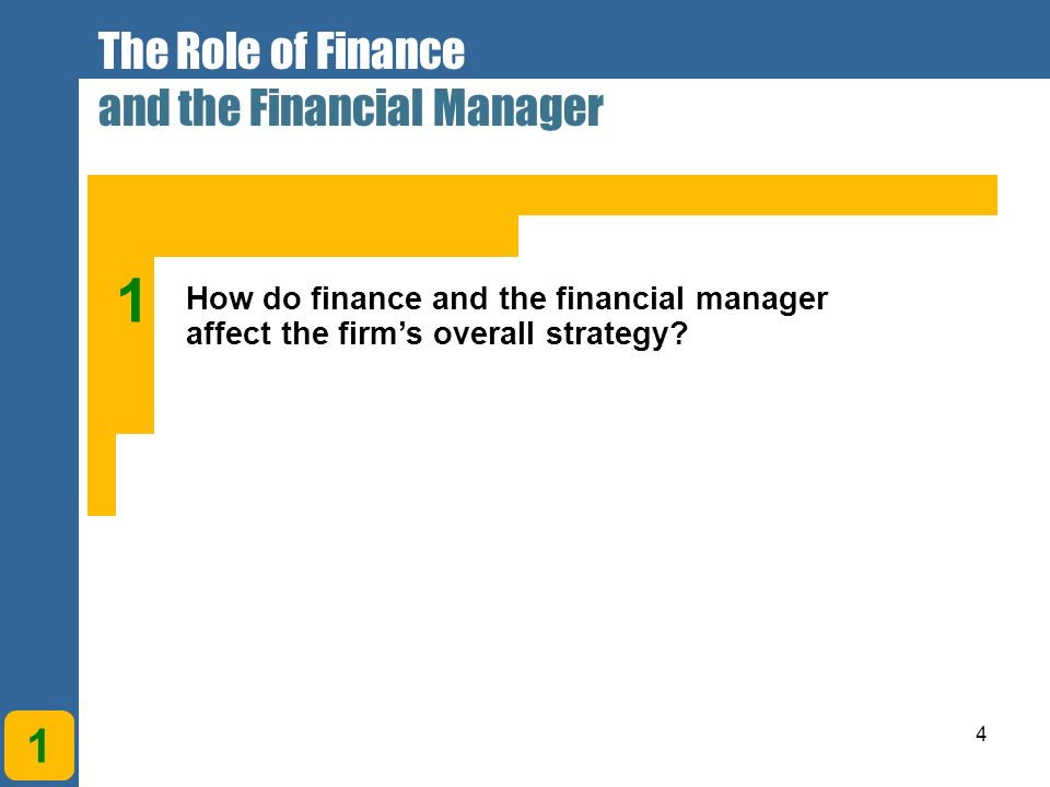 do financial management decisions influence firm As we will see in more detail in the next chapter, these accounting numbers   the financial manager in a corporation makes decisions for the stockholders of  the firm  and financing arrangements that favorably impact the value of the  stock.