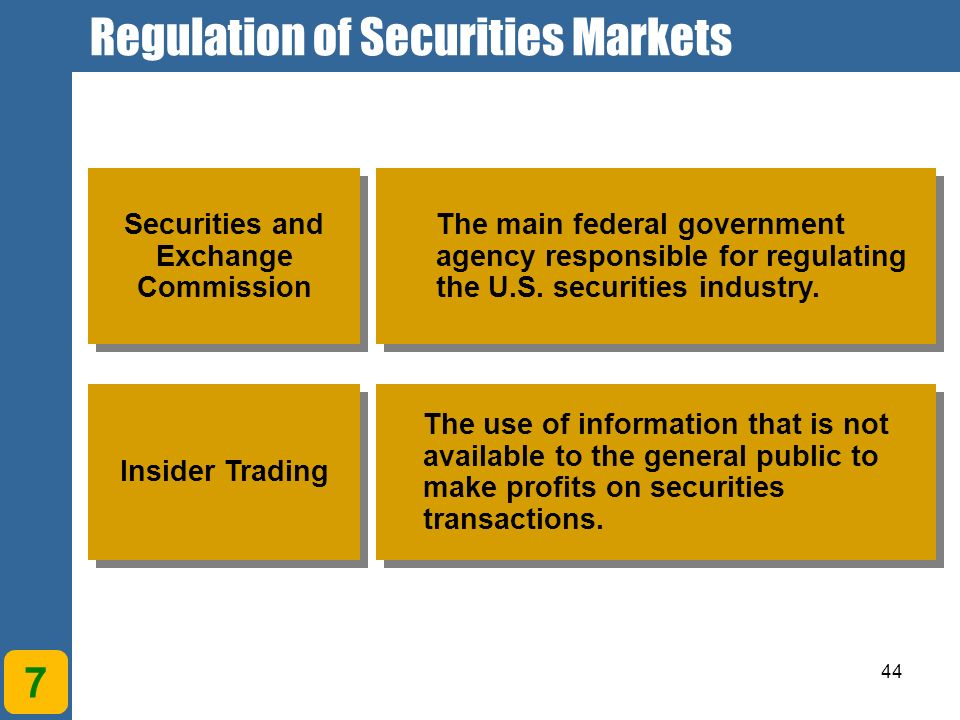 self regulation in securities market The association for generally accepted principles in the securities market  self- regulation of private sector companies on the swedish securities market.