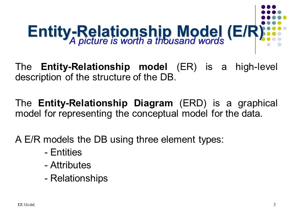 entity relationship diagrams and conceptual modelling