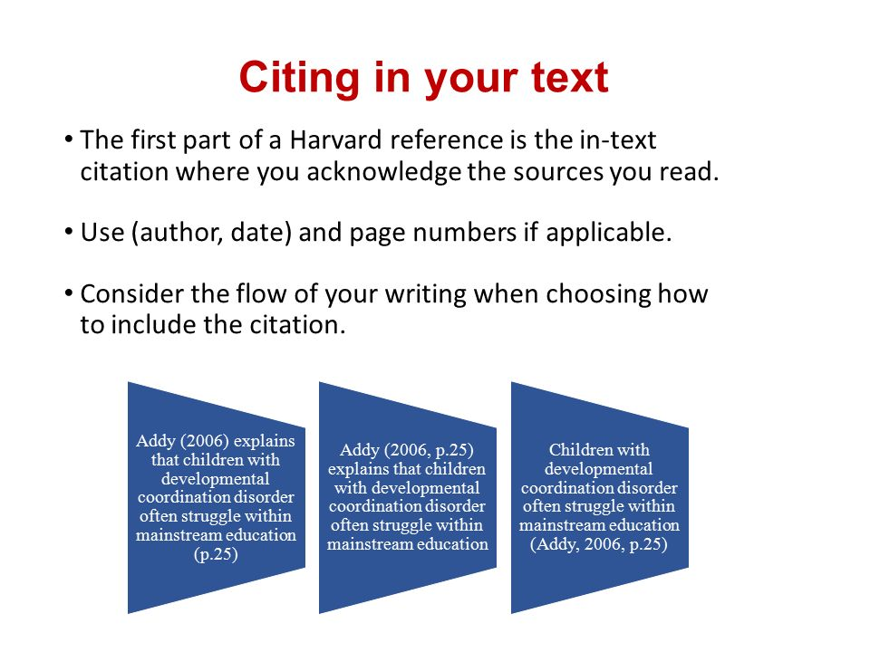 How To Reference Essays Harvard Style