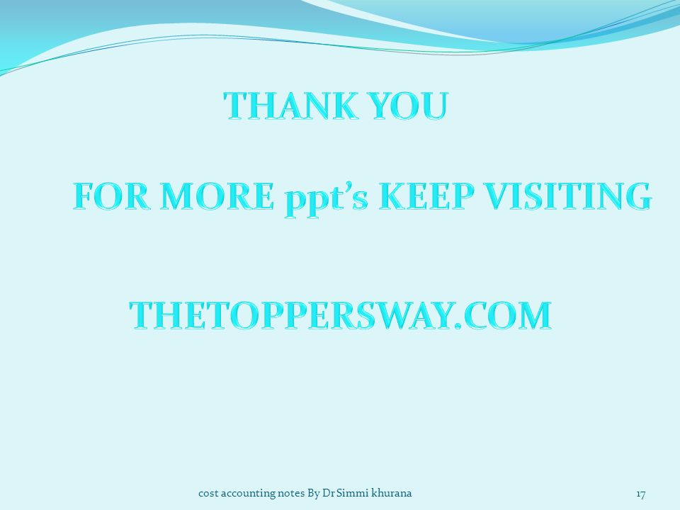 FOR MORE ppt's KEEP VISITING