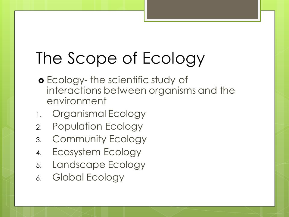 Bio ch.52-Ecology Flashcards | Quizlet