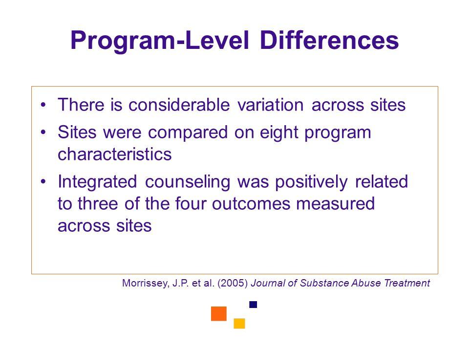 Program-Level Differences