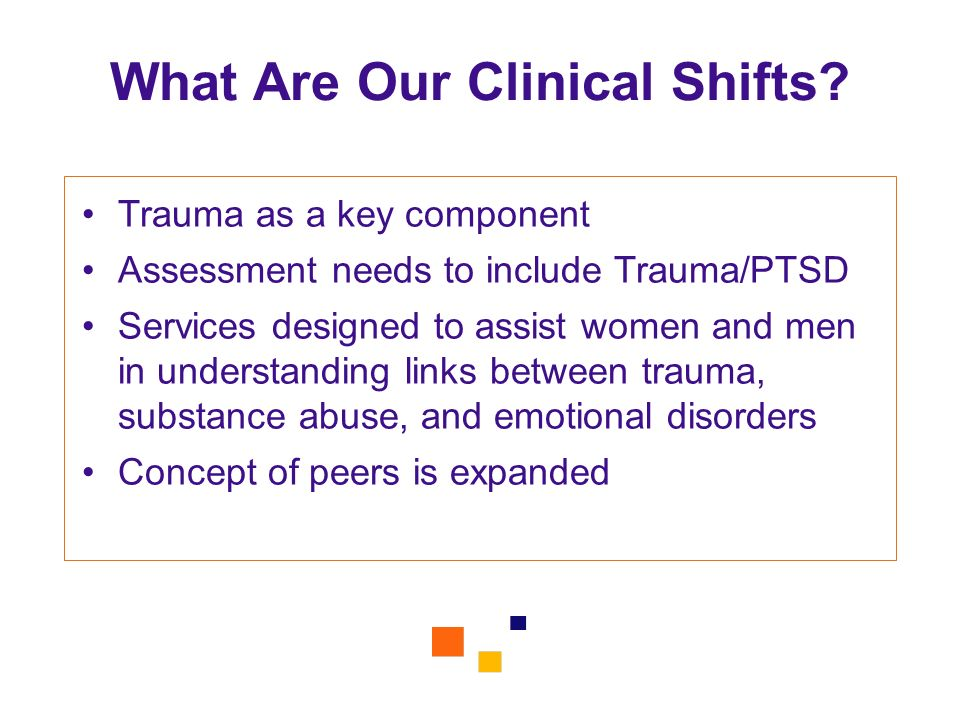 What Are Our Clinical Shifts