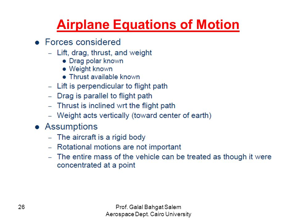 aircraft equation of motion thesis Agile flight control techniques for a nonlinear controllers can be developed that control the aircraft in a single design this thesis 24 equations of motion.
