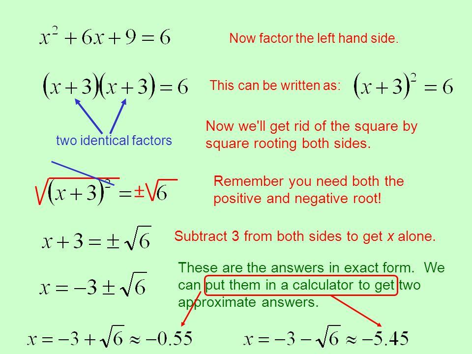 Solving Quadratic Equations. - ppt video online download
