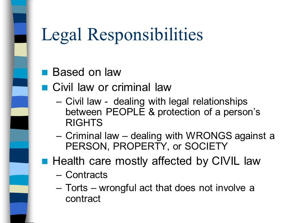 relationship between acp and ethical obligations of an attorney