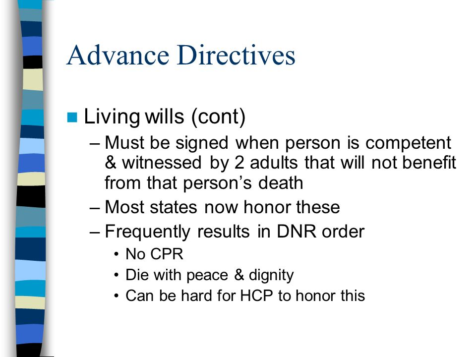 adult housing directives