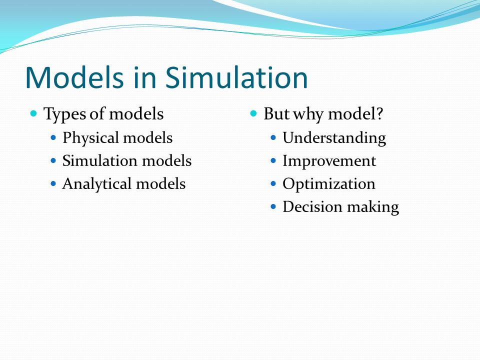 modeling decision making and optimization Overview decision-making can be regarded as a problem-solving activity terminated by a solution deemed to be optimal, or at least satisfactory.