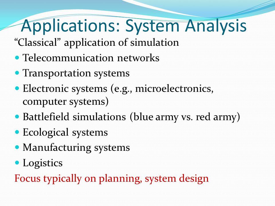 Discrete Event Systems Simulation