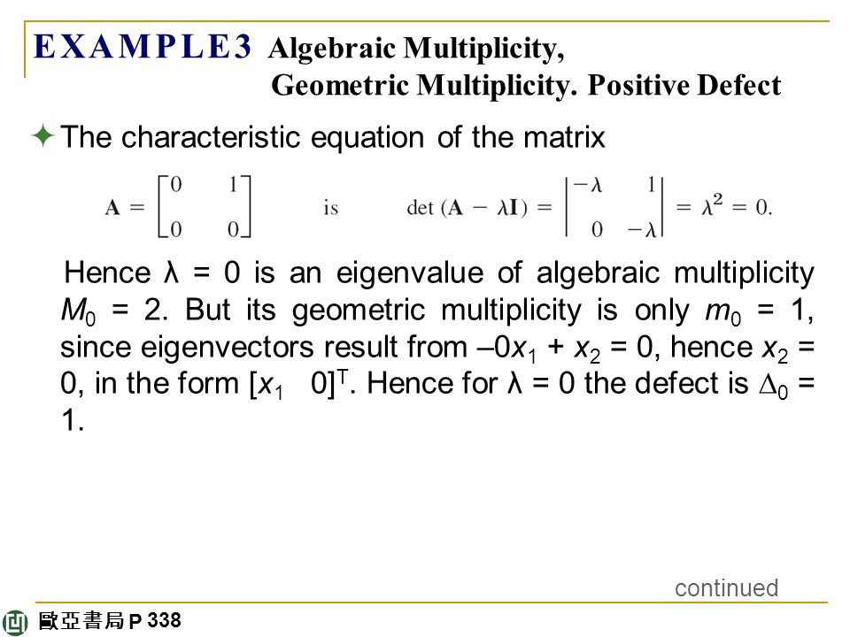 how to find multiplicity of a number