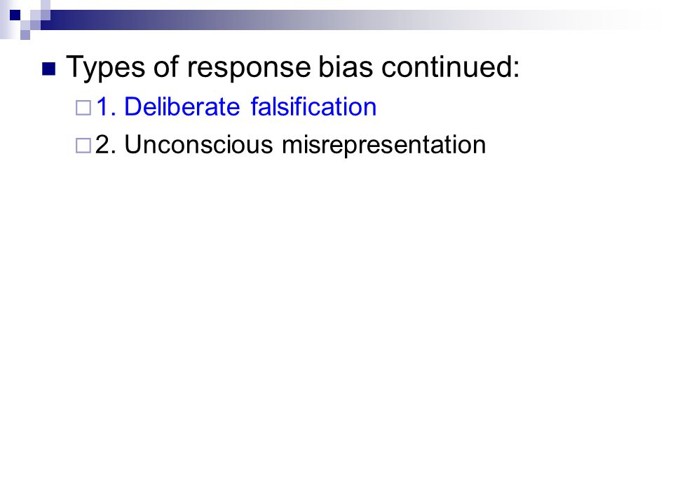 how to avoid acquiescence response bias