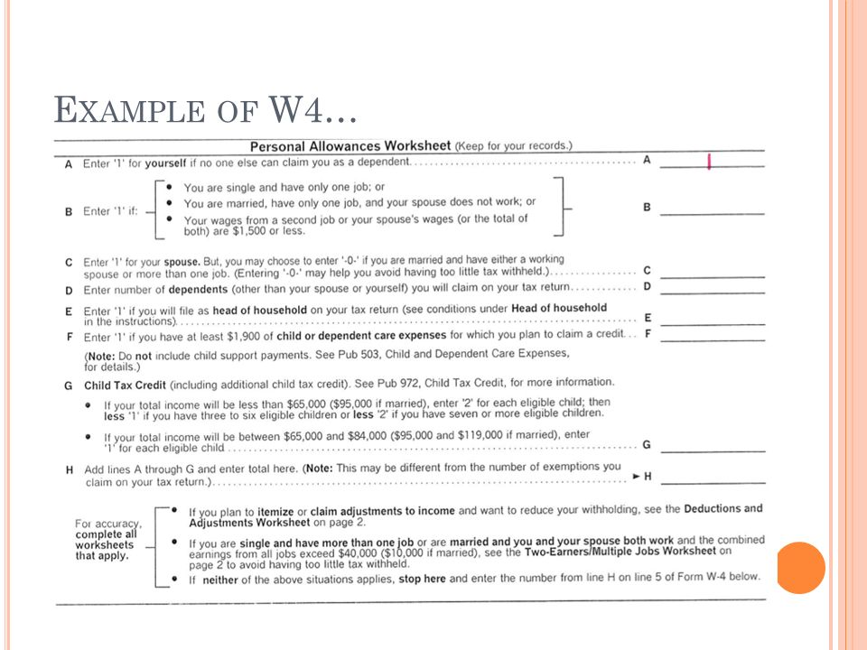College and career readiness ppt download – Personal Allowances Worksheet Help
