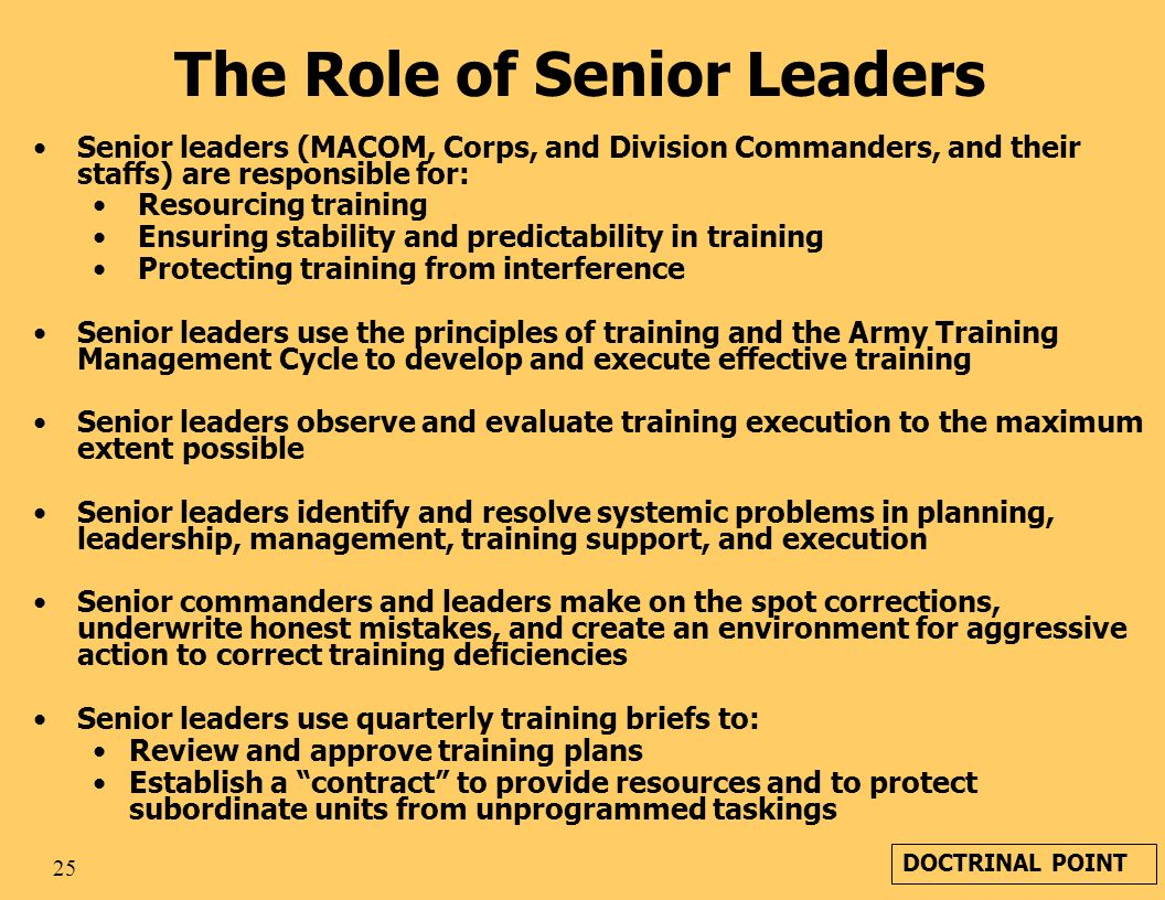 role of senior leaders If you are a middle leader and are considering making the step up to a senior  leadership role, it's well worth pausing for thought first.