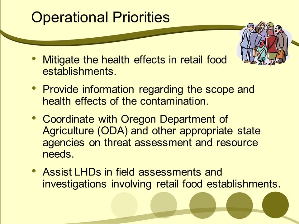 Operational Priorities