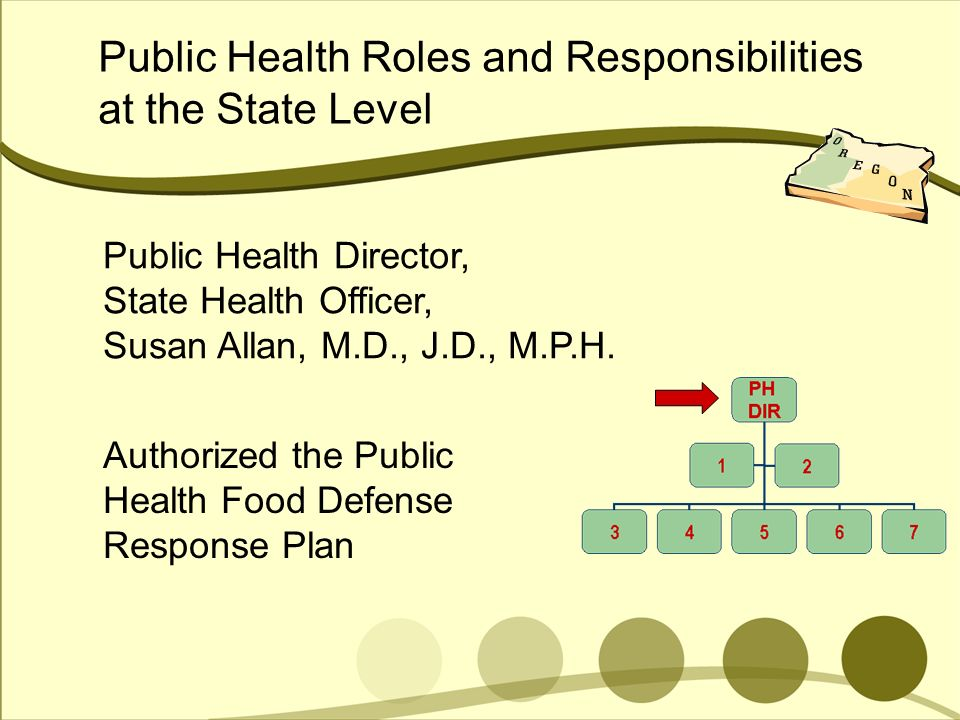 Public Health Roles and Responsibilities at the State Level