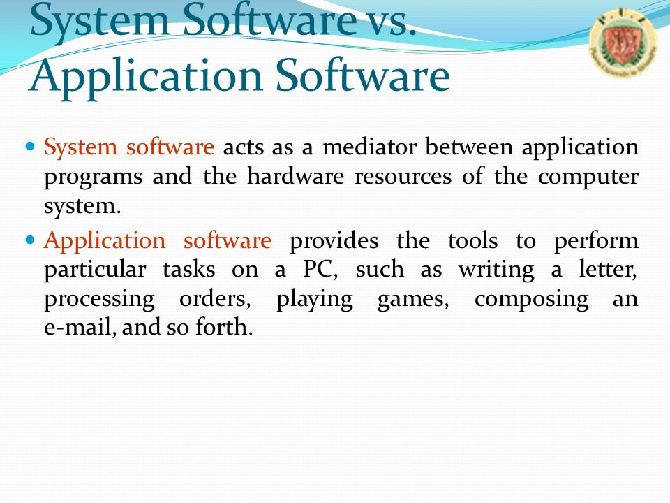 a computerized system for school - hardware and software essay Computerized enrolment system chapter - essay example posted on by admin posted in computers  a school that is privately owned and managed but then,.
