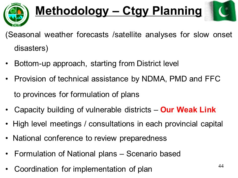 Methodology – Ctgy Planning