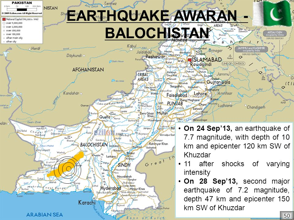EARTHQUAKE AWARAN - BALOCHISTAN