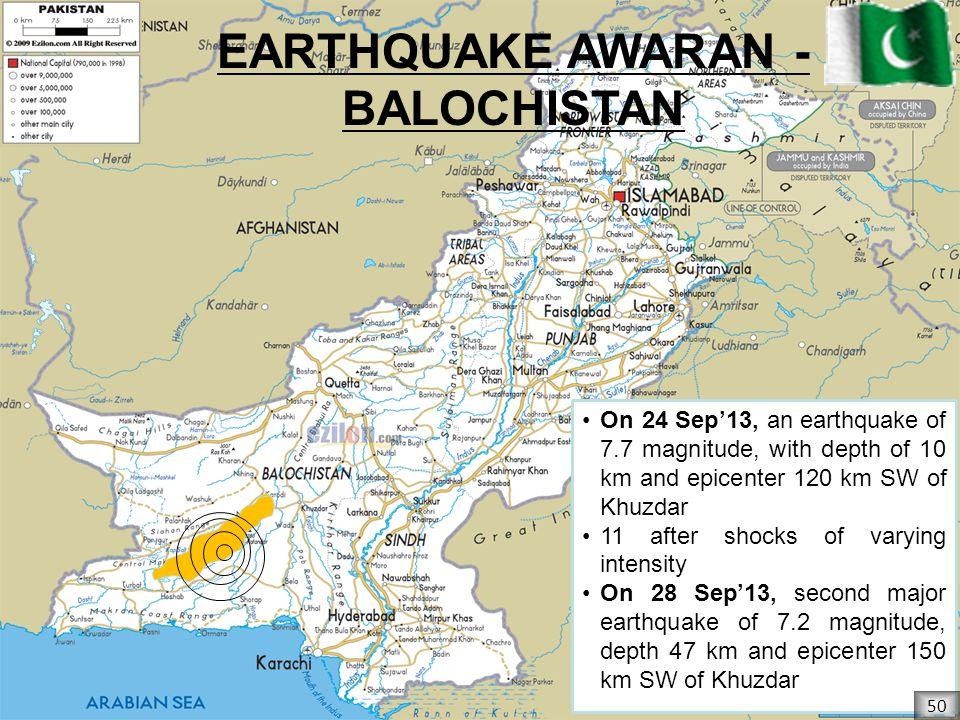 EARTHQUAKE AWARAN - BALOCHISTAN