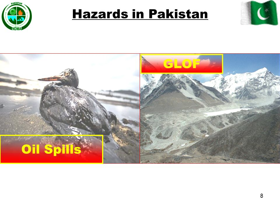 Hazards in Pakistan GLOF Oil Spills 8