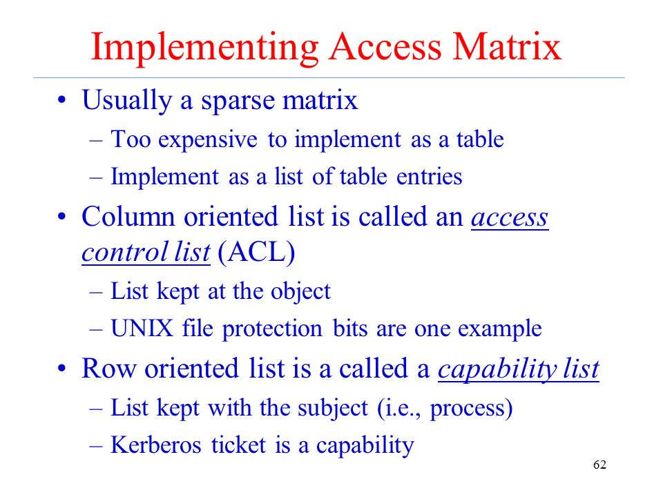 Unix file/directory protections