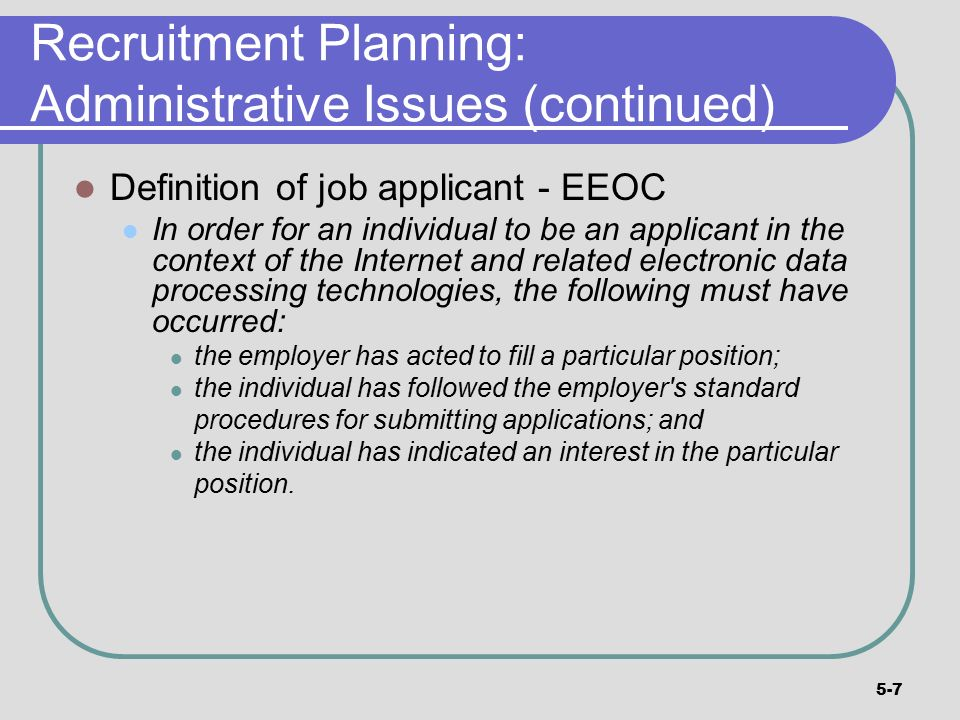 recruitment plan 2
