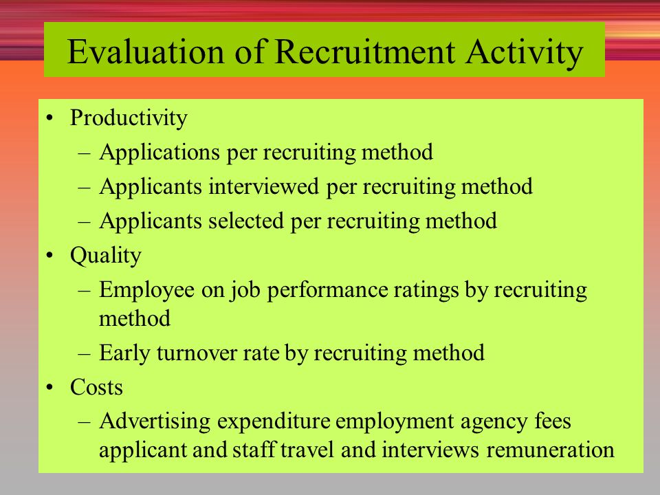 Recruiting human resources ppt video online download for Advertising agency fees