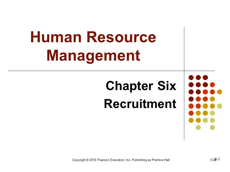 human resource management chapter 6 pdf