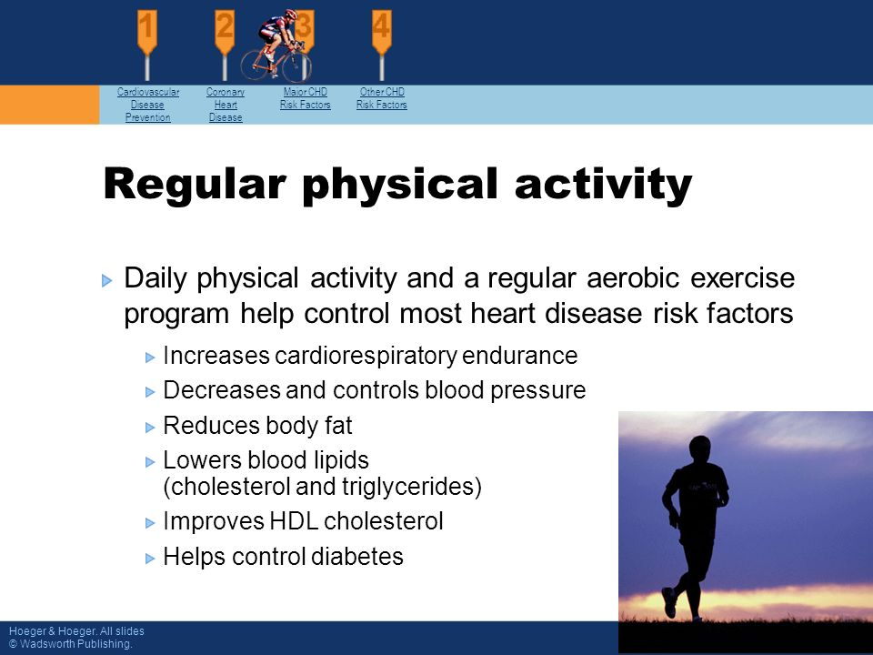 cardiovascular disease and regular exercise State of the heart  exercise helps  cerg's research on exercise and cardiovascular disease shows that regular physical activity is important for.