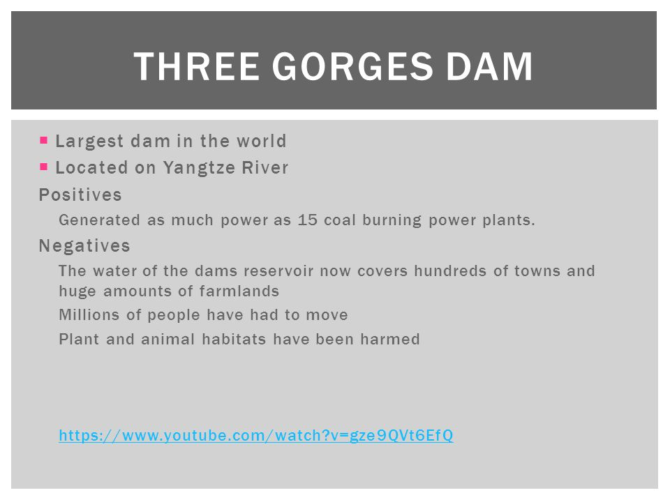 an introduction to the geography and history of the three gorges dam Three gorges dam and the fate of china's yangtze  visits, informed by her  chinese language and her knowledge of history, geography, society, and politics.